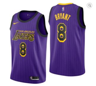 Los Angeles Lakers [City Edition] Jersey – Kobe Bryant – ThanoSport