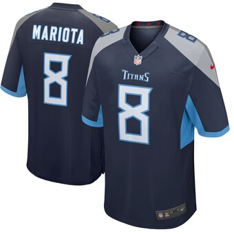 Marcus Mariota Tennessee Titans Nike New 2018 Game Jersey – Navy