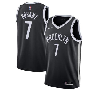 Kevin Durant Brooklyn Nets Nike 2020 21 Swingman Jersey - Black - Icon Edition